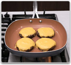 Gotham™ Steel Square Fry Pan