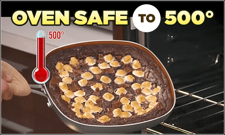Oven Safe to 500 degrees